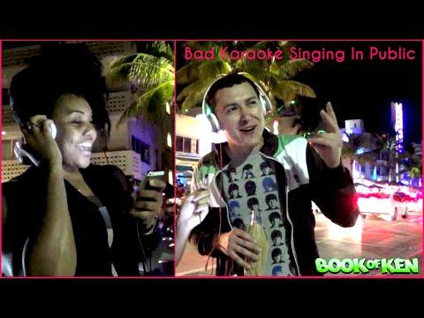 Bad Karaoke Singing In Public Pranks - Funny Pranks video