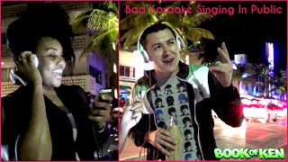 Bad Karaoke Singing in Public Pranks - Funny Pranks