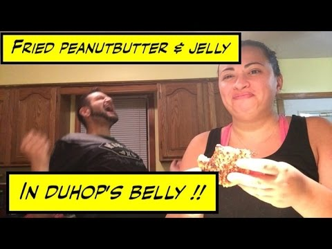 Duhop FRIED PEANUT BUTTER & JELLY !!!