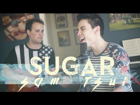 Sugar (maroon 5) - Sam Tsui & Jason Pitts Acoustic Cover video