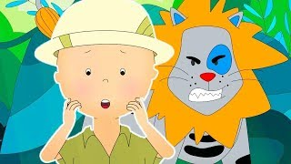 CAILLOU'S JUNGLE ADVENTURE | Cartoons for kids | Funny Animated Cartoons for Children