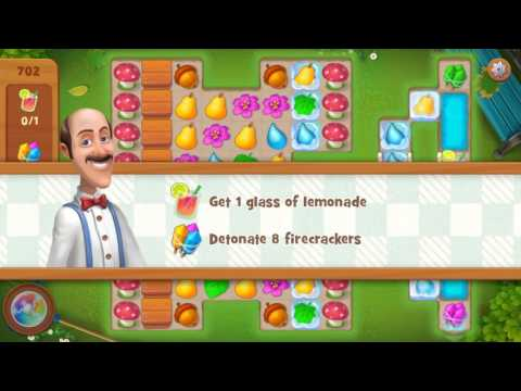 Gardenscapes Level 702 Walkthrough No Boosters Used