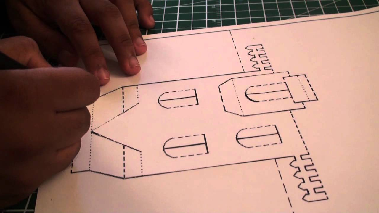 Origami 3d House Youtube