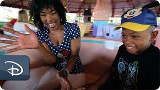 Angela Bassett & Courtney B. Vance   Walt Disney World Resort