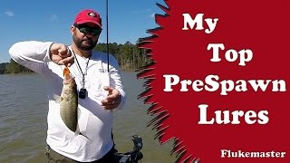 Prespawn Bass Fishing Top Picks
