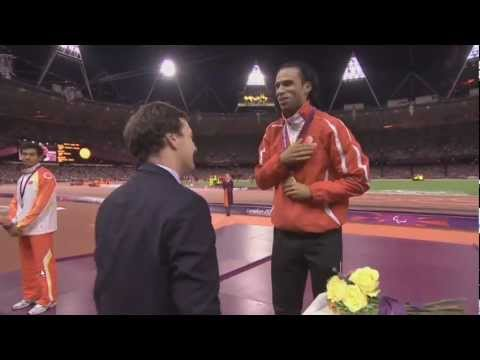 George Osborne Gets Booed Handing Medals at the Paralympic Athletics Medal Ceremony