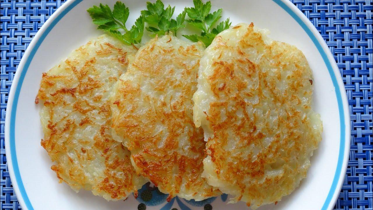 Рецепт белорусских драников из картошки с пошагово