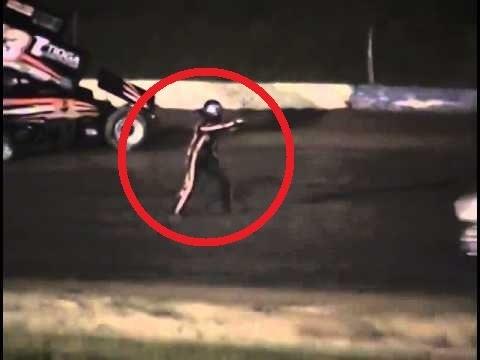 Campeón de Nascar atropelló y mató a uno de sus rivales (Kevin Ward Jr)
