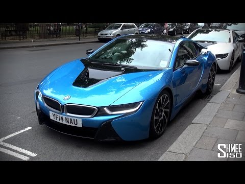 My First Drive in the BMW i8 [Shmee's Adventures]