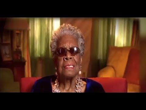 Beloved poet Maya Angelou salutes Madiba