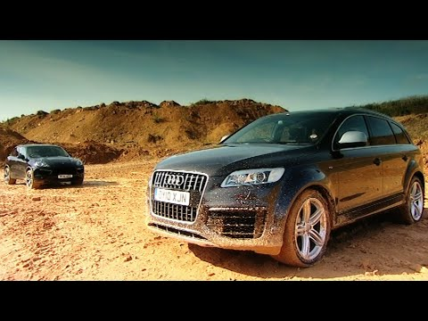 Cayenne Turbo v Audi Q7 V12 TDI - Fifth Gear