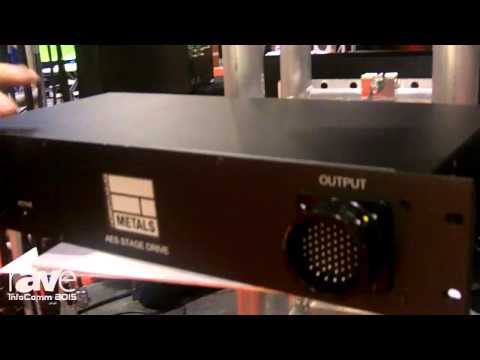 InfoComm 2015: Entertainment Metals Shows the AES Stage Drive Box