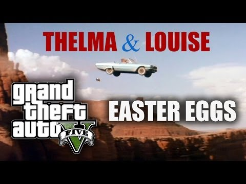 GTA V Easter Eggs - Thelma & Louise Ending