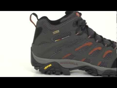 Video: Men's Moab Mid GORE-TEX Hiking Boot