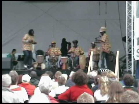 Kirchentag Bremen - African Culture Group