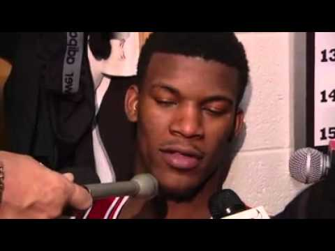 2/13/13 - Post Game Interview: Jimmy Butler
