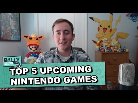 The Toy Insider   Billy Says Top 5 Nintendo Games for 2016