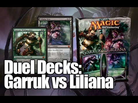 MTG - Duel Decks: Garruk vs Liliana Unboxing!