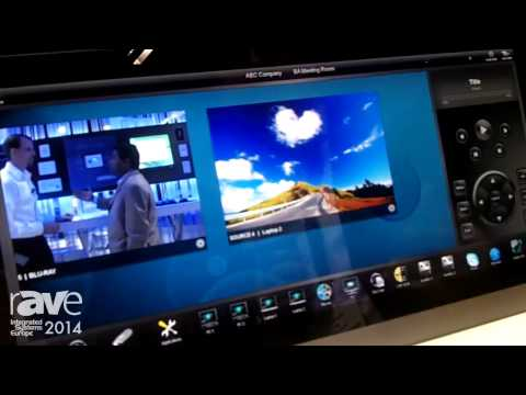 ISE 2014: AMX Talks About Modero X Generation 5 Series Touch Panel