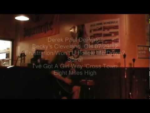 Derek DePrator at Becky's Cleveland, OH 7/29/12