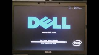 Unboxing & Installing Windows XP on a 2006 Dell Latitude D620