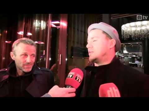Channing Tatum Meeting with Norwegian author Jo Nesbø