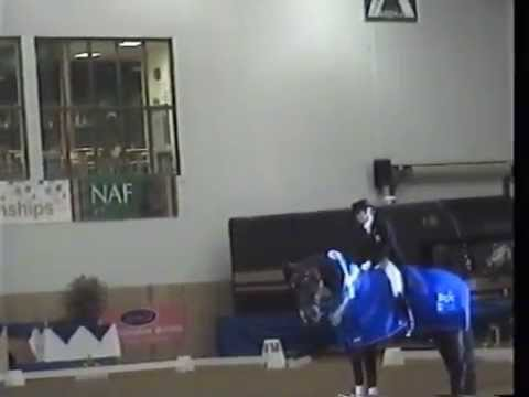 British Dressage Prix St Georges Freestyle Winter Champion 2010