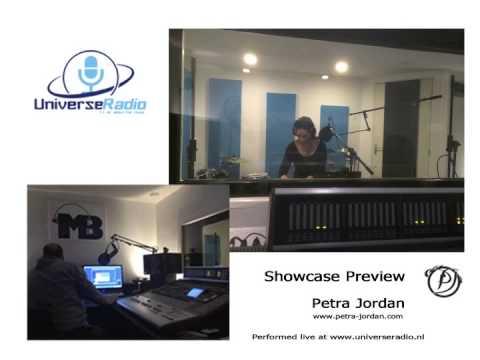 Petra Jordan LIVE @ Universe Radio (Showcase Preview)