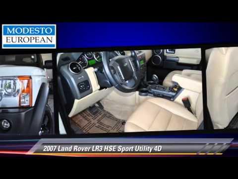 2007 Land Rover LR3 HSE – Modesto European, Modesto