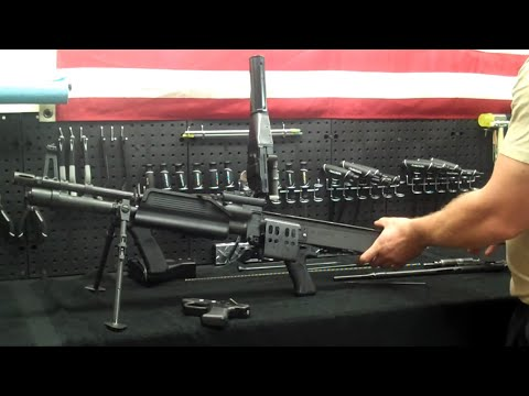 How to Assemble an M60e4 Machine Gun