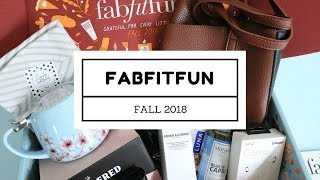 FabFitFun Subscription Box Unboxing Fall 2018