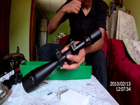 (airsoft) review mira telescopica 6-24x50