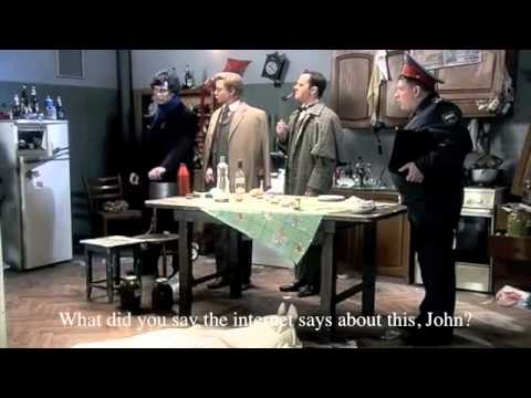 Russian Sherlock Holmes Parody (English subtitles)
