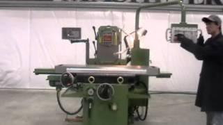 Shepherd Milling Machine U-1000 Spindle Speed Demo.MOD