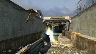 """Half-Life 2 Part 3 Gameplay """"Route Kanal"""" (Commentary and No Deaths)"""