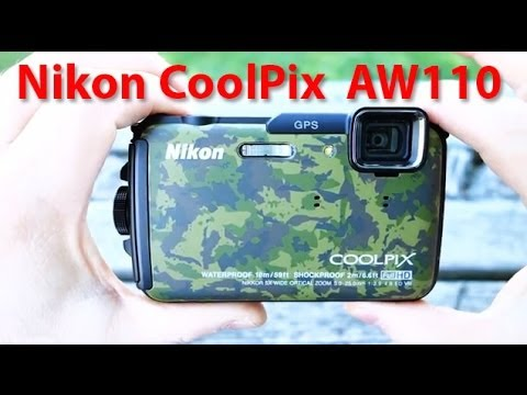 Nikon Coolpix AW110 review - GPS & Wi-Fi wmu all-weather underwater camera