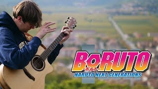 Boruto: Naruto the Next Generation Opening 2 - OVER - Fingerstyle Guitar Cover