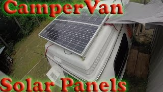 Van's solar panels and power usage-MichiganVanDweller