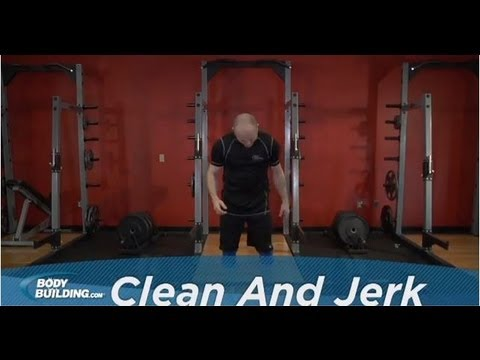 Clean and Jerk - Shoulders / Legs / Back Exercise - Bodybuilding.com Image 1