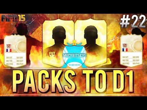 FUT 15 ••► PACKS TO D1 #22 | OH FULL LEGENDS TEAM !!