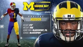 Khaleke Hudson Highlights - Michigan Signing Day 2016