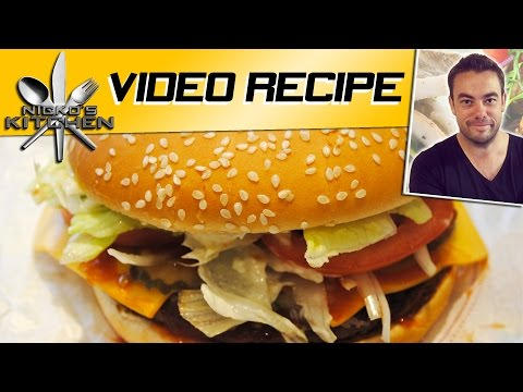 BURGER KING WHOPPER - RECIPE