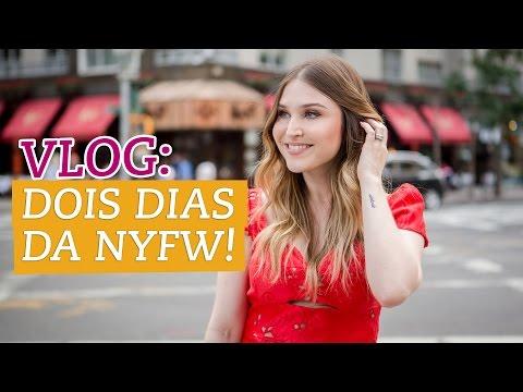Vlog: dois dias de NYFW!