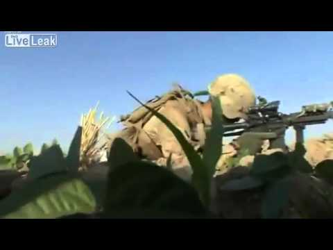 USMC- CLOSE FIGHT IN HELMAND, AFGHANISTAN(Combat Footage)