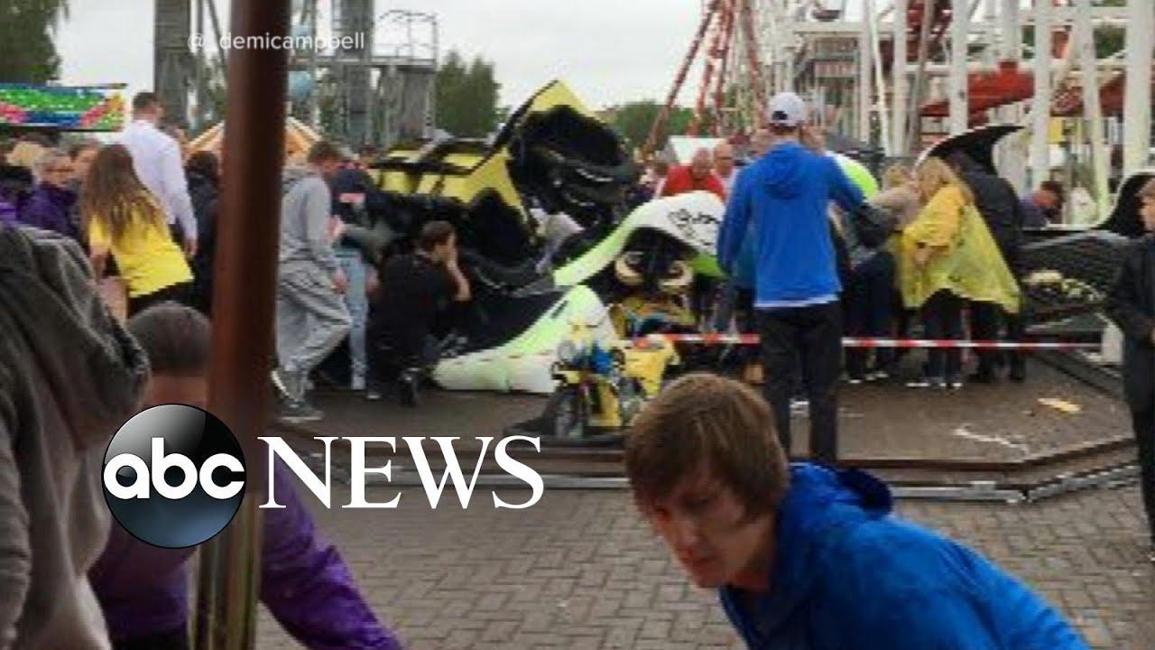 Roller Coaster Derails, Injuring 10 People