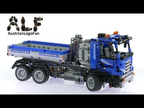 Lego Technic 8052 Container Truck Lego Speed Build Review Lego