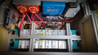 Lithium Battery Install in a DIY Mercedes Sprinter camper van