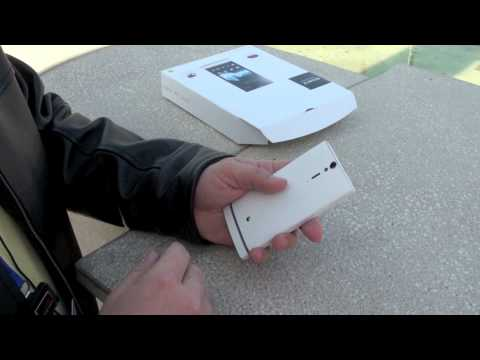 Sony Xperia S Review Unboxing and Hardware Tour