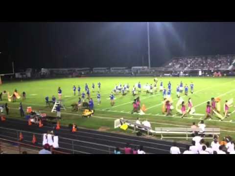 Robert B. Glenn High School Marching Band 2012