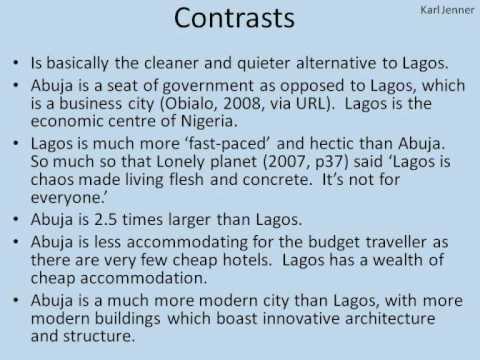 Lagos vs Abuja